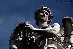 Anima Mundi (Ecinquantotto ( + 1.468.000 views !!! GRAZIE) Tags: architettura architecture art arte angel angels angeli colori colors clouds castelsangelo d3000 dreams dream italia italy marmo nikon nikond3000 nuvole statue ombre spqr roma rome reflex