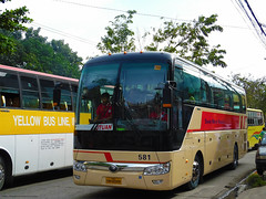 Davao Metro Shuttle 581 (Monkey D. Luffy ギア2(セカンド)) Tags: bus mindanao philbes philippine philippines photography photo enthusiasts society road vehicles vehicle explore coach outdoors yutong