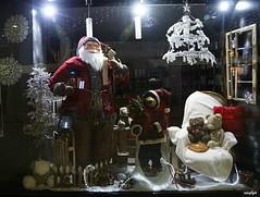 vitrine de l'office de tourisme d'Istres (Missfujii) Tags: