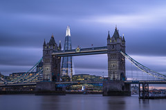 30 seconds of magic (sarah_presh) Tags: london uk england towerbridge tower bridge theshard shard morelondon cityhall light dusk evening longexposure leefilters lee6stop nikond750 nikon50mm