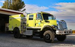 BLM FIRE Engine 3637 (Vegasrails) Tags: fire blm equipment