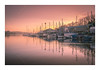 Winter Moorings (David Haughton) Tags: river penryn boats mooring dawn sunrise peaceful tranquil quiet water reflections cornwall cornish fineart