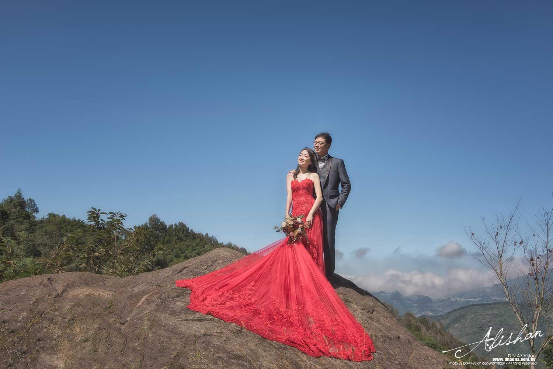 阿里山婚紗cf+kc︱高雄婚攝dna平方婚紗攝影