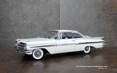 1959 Chevrolet Impala Hardtop Sport Coupe (JCarnutz) Tags: 124scale diecast wcpd