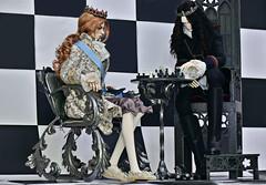 ♔ White King - Black King ♚ (Vlastelin Nichego) Tags: dolls abjd bjd dollzone raymond gilderon demiurgedolls renault