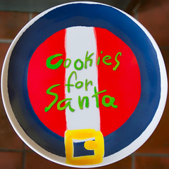 Cookies for Santa (Timothy Valentine) Tags: 1217 cookies home 2017 plate squaredcircle eastbridgewater massachusetts unitedstates us