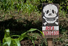 Area Fumigado (Jeremy Caney (previously Tyrven)) Tags: pesticides guatemala skull areafumigado centralamerica outdoor elquiche handpaintedsigns crossbones travel latinamerica santotomaschichicastenango skullandbones chichi death signage signs bones chichicastenango