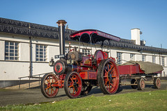 Little Samson (Ben Matthews1992) Tags: 1907 burrell tractor 2876 little samson 5ton 4nhp walls amusements old vintage historic preserved preservation vehicle transport haulage classic traction steam engine locomotive roadrun pb9615