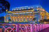 Fullerton 17 (williamcho) Tags: fullerton singapore tourism attraction hotel catering night hdr bluehour bridge landmark refurbished old heritage