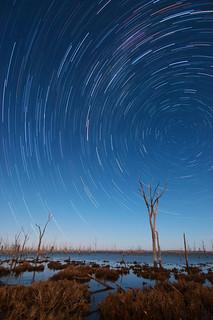 Star Trails - Lake Dumbelyung, Western Australia