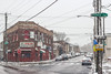 Point Breeze Avenue (D. Coleman Photography) Tags: snow winter storm weather ice moisture wet frost cold point breeze avenue 23rd moore street streets philadelphia south philly beer deli corner city cities cityscape buildings inner signs urban photography scenes