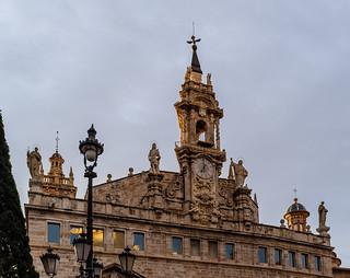Church (Iglesia Santos Juanes - St Johns) Valencia (Fujifilm X100F 23mm f2 Compact) (1 of 1)