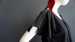 iheartfink original OOAK handmade + hand printed tunic (pillboxproductions) Tags: iheartfink handmadeclothing womensclothing ooakclothing slowfashion handprintedclothing uniquehandmade uniqueclothing indiefashiondesigner americanartist textileart originalart arttowear