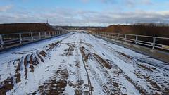 Ny motorvejstilkørsel ved Horsens den 6. januar 2018 (Bjerner, DK) Tags: horsens e45 hatting