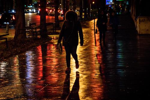 Rainy Evening Colors