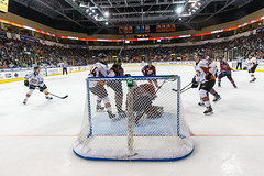 """Kansas City Mavericks vs. Kalamazoo Wings, January 5, 2018, Silverstein Eye Centers Arena, Independence, Missouri.  Photo: © John Howe / Howe Creative Photography, all rights reserved 2018. • <a style=""""font-size:0.8em;"""" href=""""http://www.flickr.com/photos/134016632@N02/25707994398/"""" target=""""_blank"""">View on Flickr</a>"""
