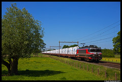 Captrain 1619, Deventer Colmschate 25-05-2017 (Henk Zwoferink) Tags: deventer overijssel nederland nl colmschate raillogix rfo rail force one captrain broekman glastrein henk zwoferink alstom 1619 eetc jacko fijn techniek jft innovators