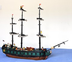 HMS Royal Oak - 6th Rate (Ayrlego) Tags: lego brethrenofthebrickseas bobs frigate 6thrate redcoats