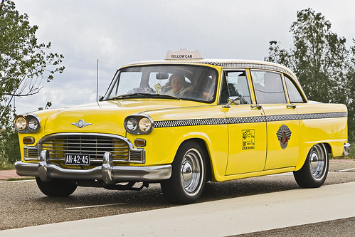 Checker SD Yellow Cab 1968 (1484)