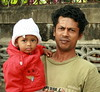 father and son with south asian blood (the foreign photographer - ฝรั่งถ่) Tags: father son warmly dressed south asian blood khlong thanon portraits bangkhen bangkok thailand canon