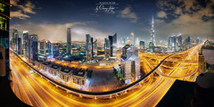 ~ The Storm is Coming ~ (Chirag Khatri) Tags: nikon d850 nikond850 tamron tamron1530 dubai mydubai dxb downtown downtowndubai night nightscape sky thunder storm couldy clouds city lights long exposure longexposure pano panorama digital meandtheviewat42 sheikhzayedroad uae stars burjkhalifa khalifa skyscrapers architecture dark golden citylights under pov lightning