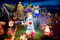 A few lights (dziurek) Tags: d750 nikon dziurek dziurman pdziurman fx santa claus christmas decoration home house garden holiday light lighting eve night illumination poland