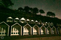 363/365 Moonlight ([inFocus]) Tags: 365 project365 3652017 iphone iphonex bournemouth beach long lowlight longexposure night nighttime nightafterdark afterdark south coast beachhut