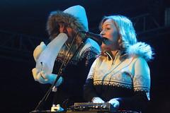 Ice Music (2017) 02 - Terje Isungset & Maria Skranes (KM's Live Music shots) Tags: jazz norway icemusic terjeisungset mariaskranes icehorn iceinstrument fridaytonic nordicmatters winterfestival southbankcentre