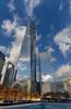 Camouflaged (rajaramki) Tags: nyc manhattan skyline newyorkcity freedomtower wtc