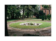 5. Courtyard with a fountain (kotmariusz) Tags: fountain decay poland analog 35mm filmphotography olympus fuji superia400 om40 analogowa fotografiazpolski mokrzeszów pałac szpital fontanna rozpad