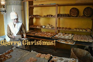 Stoccolma, l'antica bottega del fornaio ricostruita al museo Skansen