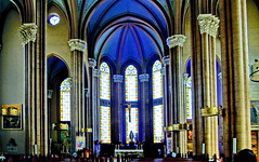 Church of St. Anthony of Padua, Istanbul (gerard eder) Tags: world travel reise viajes europa europe turkey turquia türkei istanbul estambul church sacral architecture architektur arquitectura interior
