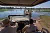 Makgadikgadi ferry (NettyA) Tags: 2017 africa botetiriver botswana makgadikgadipansnationalpark menoakwena ferry safarivehicle travel people khumaga