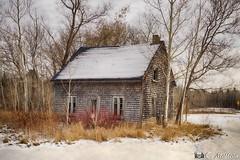 171128-32 Vieille à l'abandon (clamato39) Tags: abandoned abandon old oldhouse vieux ancient ancestrale antiquité neige snow hiver winter portneuf provincedequébec québec canada