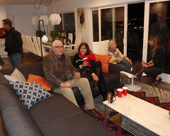 028 Gathering In The Living Room (saschmitz_earthlink_net) Tags: 2017 california southerncaliforniagrotto christmasparty losangelescounty baldwinhills windsorhills party climbing practice