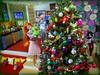 Decorating the Big Tree (MiskatonicNick) Tags: toyville xmas christmas 2017 poppyparker domo diorama playscale 16 sixthscale
