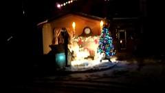 Christmas light show deep in the north woods (yooperann) Tags: christmas december holidays video light show music gwinn upper peninsula michigan