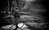 Boy with Hoop (Padmanabhan Rangarajan) Tags: rural india village farmers kids light mists