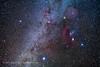 Orion and His Dog Stars (Amazing Sky Photography) Tags: orion constellation sirius procyon dogstars monoceros rosettenebula barnard'sloop arizona canisminor wintermilkyway m46 m47 m50 alberta canada