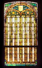 Stain glass window in the historic 1908 Lakewood Memorial Chapel in Minneapolis, Minnesota,  The chapel was designed by architect Harry Wild Jones. (thstrand) Tags: 19001909 1908 1909 american animal animals architecturalstyle architecture artnouveaustyle arts artwork bird birds building buildings builtstructure chapels church colorful decorativeart early20thcentury eyes harrywildjones historicsite history inside interior interiors lakewoodcemetery mn memorialchapel minneapolis minnesota nationalregisterofhistoricplaces nobody owlmotif owls religion religious sacred sanctuary stainglasswindow structures us usa unitedstatesofamerica visualarts wildlife windows