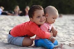 Brorhers (OlegS82) Tags: portrait brothers love beach sea sand child children boy boys hug childhood outdoor outside jurmala