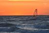 WINDSURF AL TRAMONTO ! (Salvatore Lo Faro) Tags: mare sole tramonto onde blu rosso windserf vento isole tremiti sport veleggiare lidodelsole rodi puglia italia italy salvatore lofaro nikon 7200