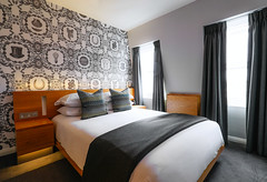 Cosy Double Room (Malmaison Hotels & Brasseries) Tags: funky hotel leeds malmaison neon tourism travel