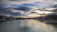 Lyon (pierrelouis.boniface) Tags: lyon rhônealpes rhône france longexposure poselongue water cityscape city canon 6d