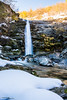 golfarone's watrerfall (simotony) Tags: nature landscape snow waterfall park tree blue ice