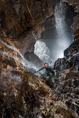 OFD Marble Showers Main Stream way (ChunkyCaver) Tags: water cave caving caver waterfall ogofffynnonddu marbleshowers spelunking