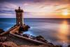 ' Kermorvan #1 ' (Million-photo) Tags: france bretagne brittany lighthouse phare seascape paysage mer ocean kermorvan ouessant molene sunset coucher soleil long exposure filter conquet ile peninsula clouds nuages rock rocher finistere