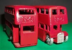 Lesney Matchbox 2nd version No5 bus. (Ledlon89) Tags: london bus buses londonbus londonbuses londontransport lt lte londonbooks busbook vintagebuses rtbus aec regent routemaster parkroyal 1967 1960s