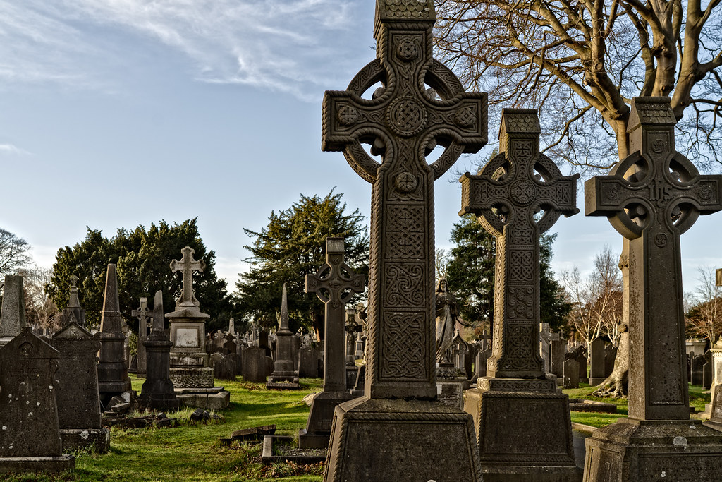 VISIT TO GLASNEVIN CEMETERY IN DUBLIN [FIRST SESSION OF 2018]-134887