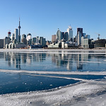 Toronto harbour turned a massive skating rink! thumbnail